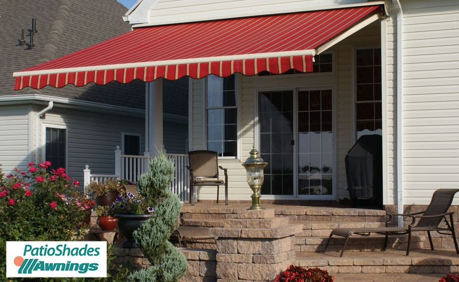 commercial patio shades retractable awnings